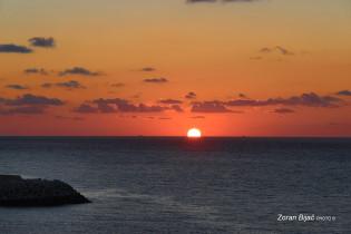 Sunset Near Tangier, Morocco