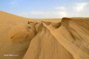 Sahara Desert Near Tozeur, Tunisia