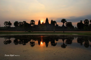 Mistical Morning Over Angkor Wat, Cambodia