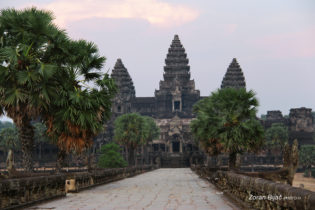 The Center Of The Old Khmer Empire - Angkor Wat Temple, Cambodia