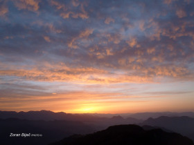 Sunrise In The Foothills Of The Himalayas, Uttarakhand, India