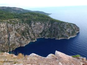 Coast On Mediterranean Sea Near Fethiye, Turkey
