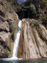Waterfall In The Foothills Of The Himalayas, Uttarakhand, India