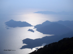 View From Paraglider, Oludeniz, Turkey