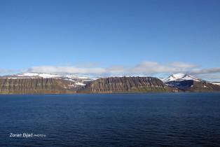 Characteristic Hills Near Longyearbyen, Svalbard, Norway