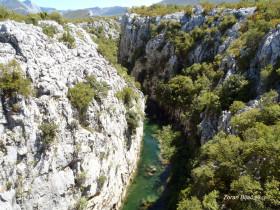 The Cetina River Canyon, Croatia