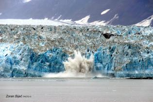 Collapsing  Glacier, Alaska, USA