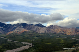 Polychrome Mountains, Denali, Alaska, USA