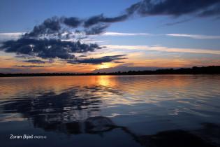 Sunrise At The Amazon River, Amazonas, Brazil