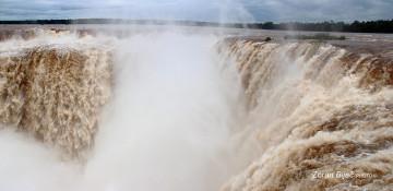 Power Of Devil&#39s Throat, Iguazu Falls, Argentina/Parana-Brazil