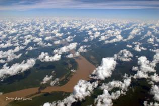 Interesting Clouds Over Rainforest Mato Grosso, Mato Grosso, Brazil