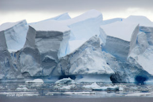 Fantastic, 50 Meters High Iceberg, Antarctica