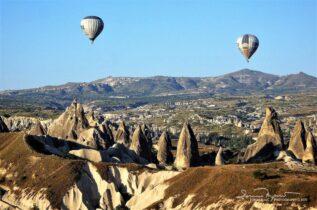 Baloon Flight Over Cappadocia Near Goreme, Turkey