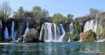 Kravica Waterfalls on Trebižat River, Bosnia and Herzegovina